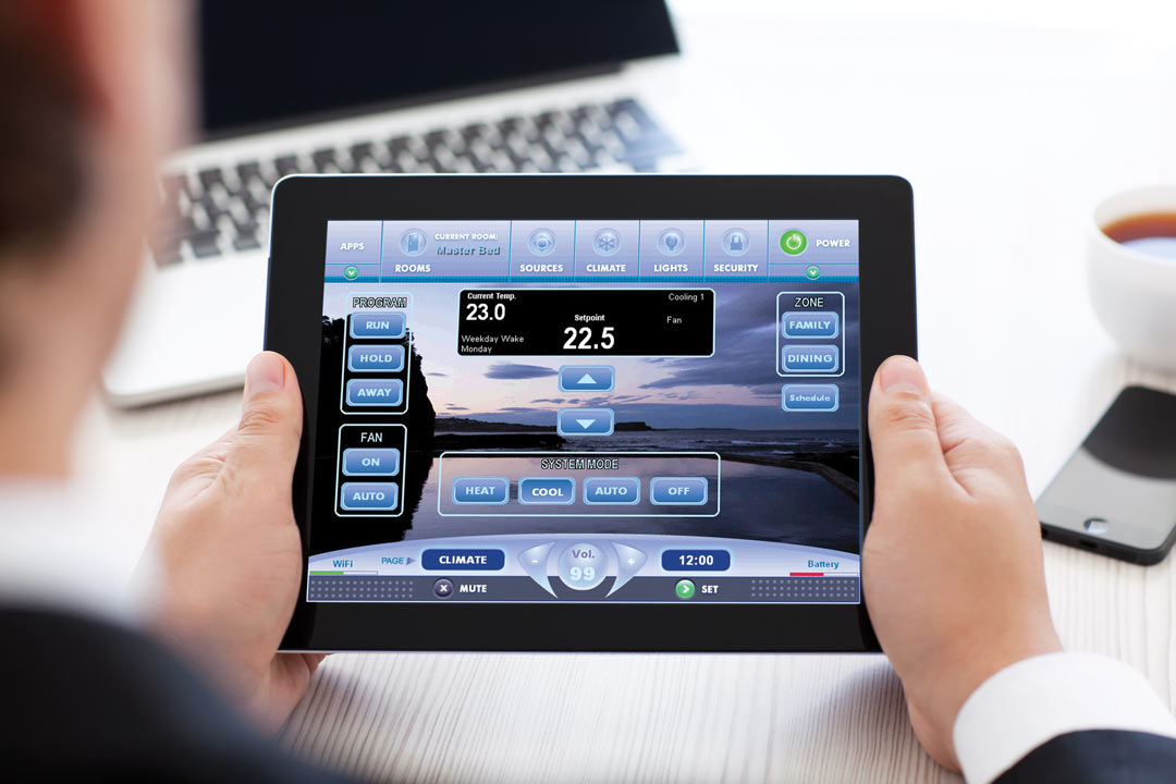Running Home Systems via Tablet